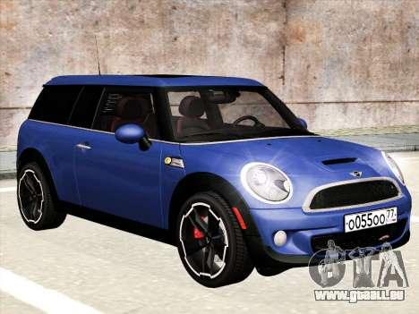 Mini Cooper Clubman JCW für GTA San Andreas