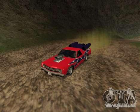 Rocket Picador GT pour GTA San Andreas laissé vue