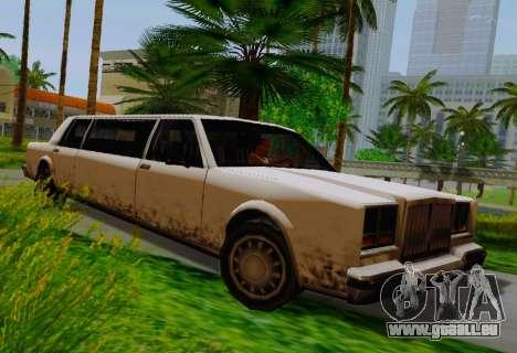 Greenwood Limousine pour GTA San Andreas
