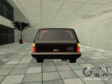 SWAT Original Cruiser pour GTA San Andreas vue de droite