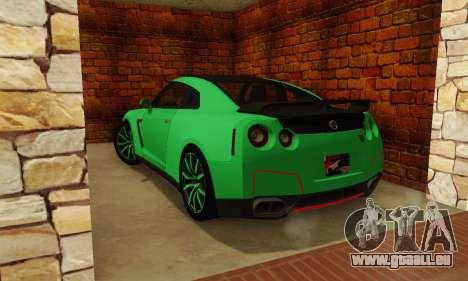 Nissan GTR Streets Edition für GTA San Andreas linke Ansicht