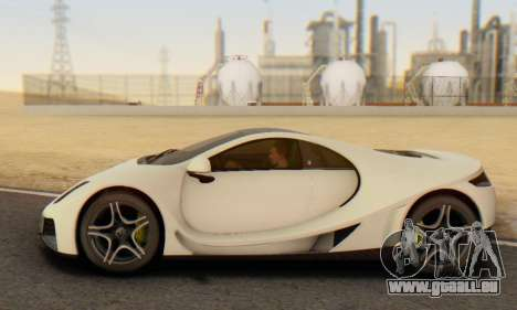 GTA Spano 2014 IVF pour GTA San Andreas vue intérieure