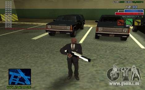 C-HUD SampHack pour GTA San Andreas deuxième écran