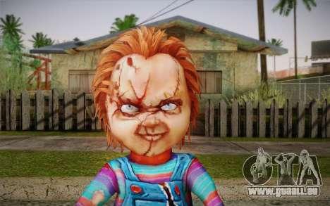 Chucky pour GTA San Andreas troisième écran