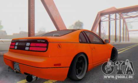 Nissan 300ZX Fairlady pour GTA San Andreas sur la vue arrière gauche