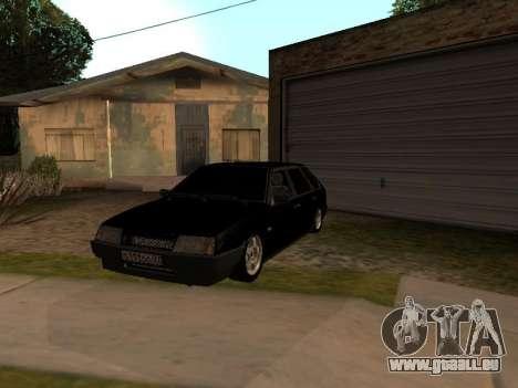 VAZ 2109 Bandit V 1.0 pour GTA San Andreas vue de côté
