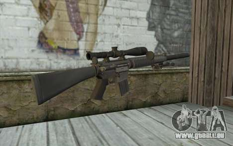 SC25 Sniper Rifle für GTA San Andreas zweiten Screenshot