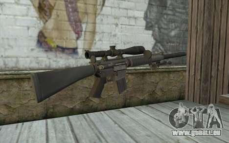 SC25 Sniper Rifle pour GTA San Andreas deuxième écran
