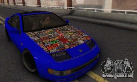 Nissan 300ZX Fairlady pour GTA San Andreas vue arrière