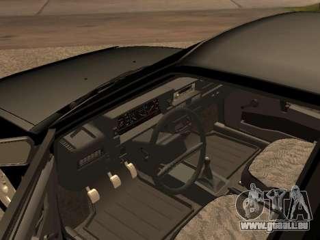 VAZ 2109 Bandit V 1.0 pour GTA San Andreas vue arrière