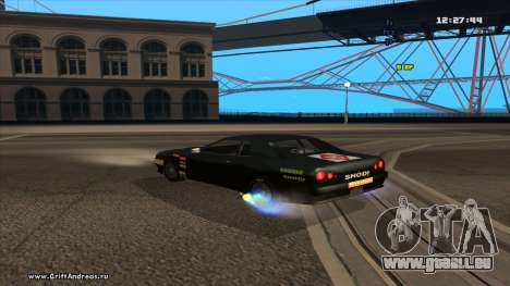 Elegy-Hotring pour GTA San Andreas vue de droite
