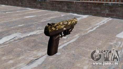 Pistole FN Five seveN LAM Hex für GTA 4 Sekunden Bildschirm