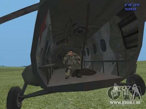 USSR Special Forces pour GTA San Andreas cinquième écran