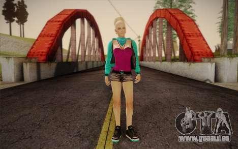 Jolie fille pour GTA San Andreas