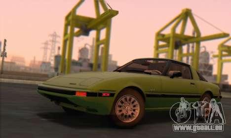 Mazda RX-7 GSL-SE 1985 HQLM pour GTA San Andreas