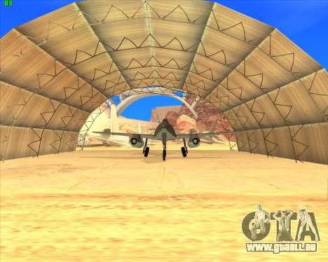 Messerschmitt Me.262 Schwalbe pour GTA San Andreas laissé vue