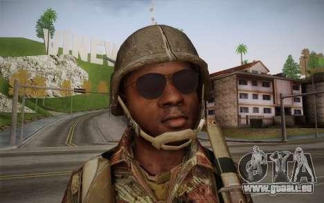 U.S. Soldier v1 pour GTA San Andreas troisième écran