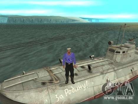 Le torpilleur type G-5 pour GTA San Andreas