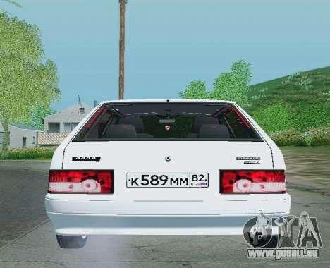 VAZ-21093 pour GTA San Andreas vue de droite
