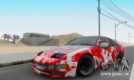 Nissan 300ZX Fairlady pour GTA San Andreas vue intérieure