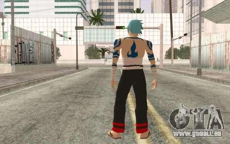 Kamina Sama pour GTA San Andreas deuxième écran
