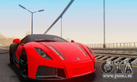 GTA Spano 2014 IVF pour GTA San Andreas