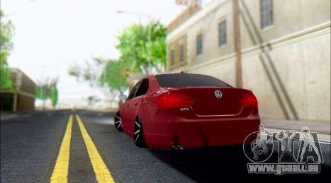 Volkswagen Jetta 1.4 Comfortline МТ pour GTA San Andreas vue de droite