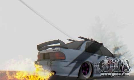 Mitsubishi Galant Generation Rock 1992 pour GTA San Andreas vue de côté