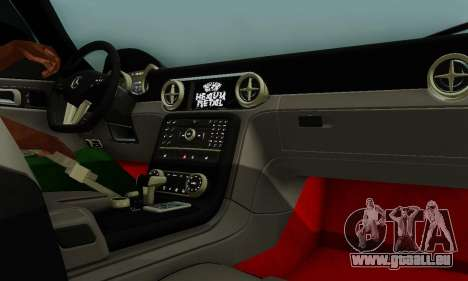 Mercedes SLS AMG Hamann 2010 Metal Style pour GTA San Andreas vue de dessous