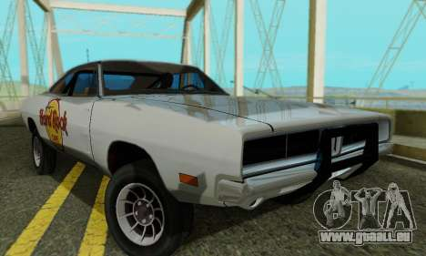 Dodge Charger 1969 Hard Rock Cafe für GTA San Andreas