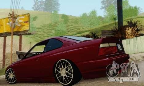 BMW 850CSI 1996 pour GTA San Andreas salon