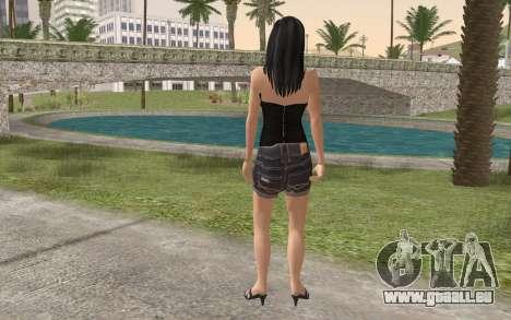 Casual Girl für GTA San Andreas zweiten Screenshot