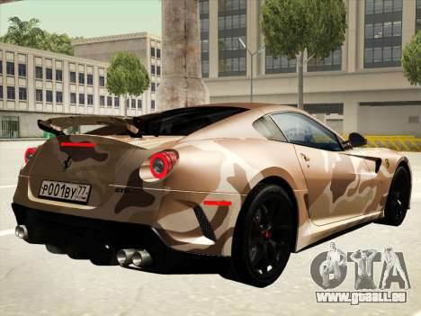 Ferrari 599 GTO pour GTA San Andreas