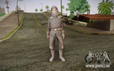 Friedrich Steiner из CoD: Black Ops für GTA San Andreas