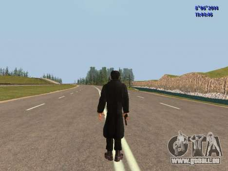 Danila du film Frère pour GTA San Andreas quatrième écran