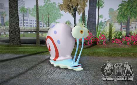 Gary (spongebob) für GTA San Andreas