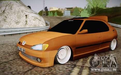 Peugeot 306 GTI 41 NS 681 pour GTA San Andreas