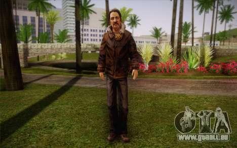 William Carver из The Walking Dead pour GTA San Andreas