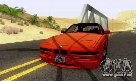 BMW 850CSI 1996 pour GTA San Andreas vue de côté