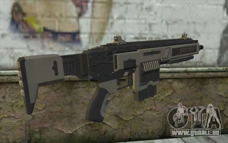 NS-11A Assault Rifle from Planetside 2 für GTA San Andreas zweiten Screenshot