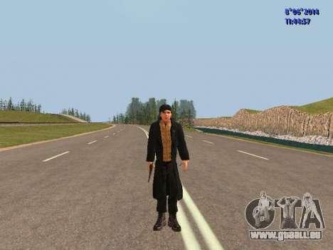 Danila du film Frère pour GTA San Andreas deuxième écran