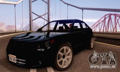 Karin Asterope V1.0 pour GTA San Andreas laissé vue