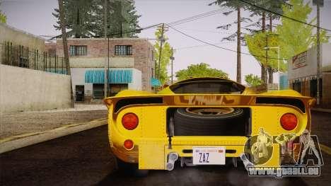 Ferrari 330 P4 1967 IVF für GTA San Andreas linke Ansicht