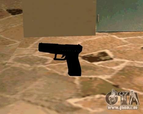 Glock из Cinématique pour GTA San Andreas cinquième écran