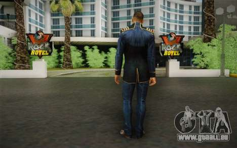 Kapitän David Anderson из Mass Effect-Serie für GTA San Andreas zweiten Screenshot