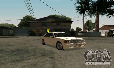 Mercedes-Benz W124 Coupe für GTA San Andreas
