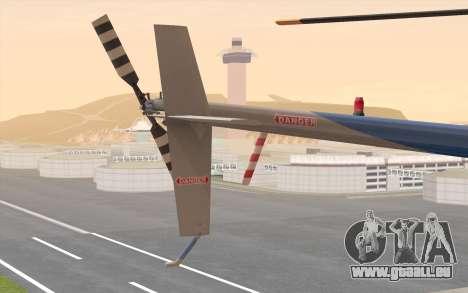 Robinson R22 für GTA San Andreas rechten Ansicht