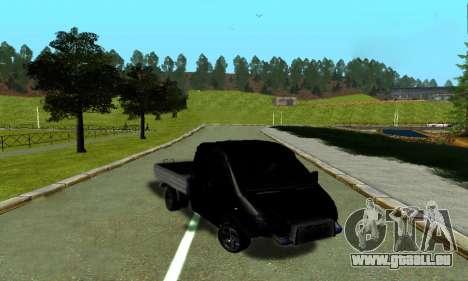 GAZ 3302 V8 Diables pour GTA San Andreas laissé vue
