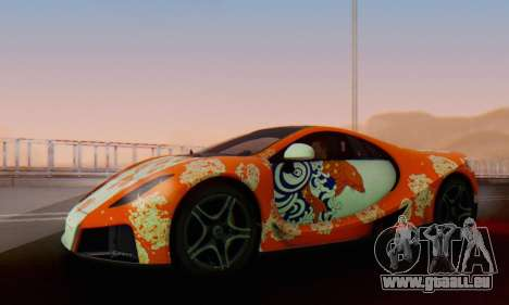 GTA Spano 2014 IVF pour GTA San Andreas roue