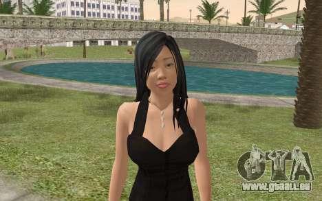 Casual Girl für GTA San Andreas dritten Screenshot